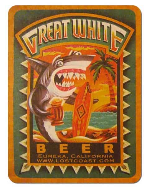 Great White Beer Drip Mat
