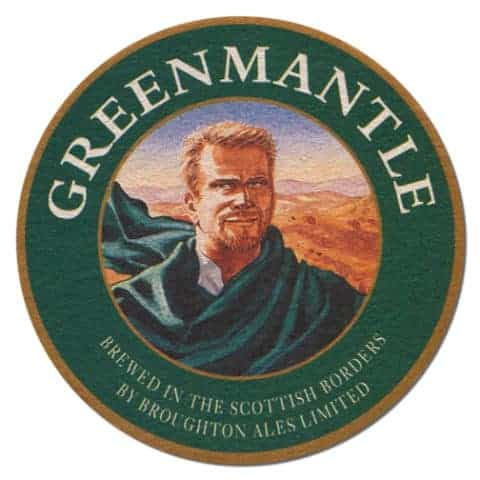 Greenmantle Ale Beer Mat