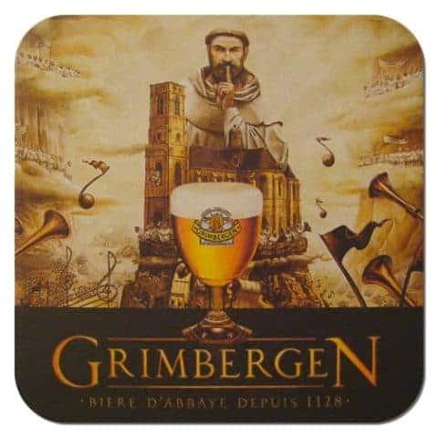 Grimbergen Beer Mat