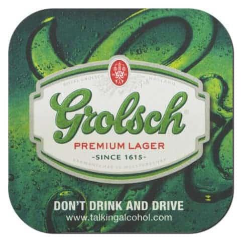 Grolsch Beer Mat