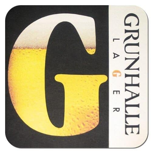 Grunhalle Beer Mat Front