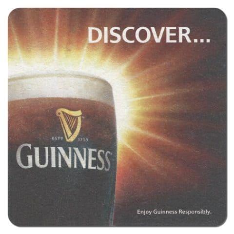 Guinness Beer Mat Front