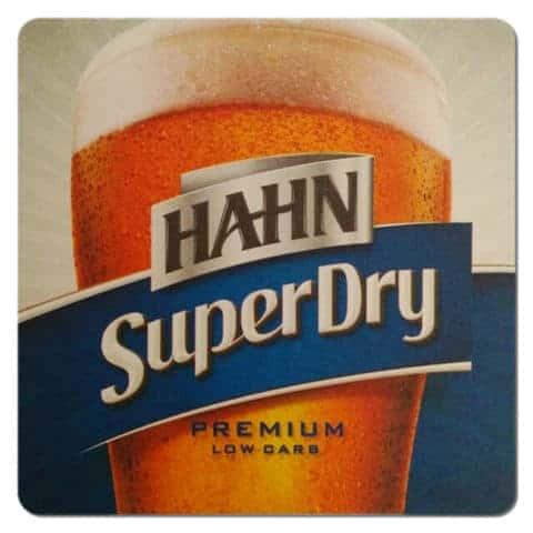 Hahn Beer Mat