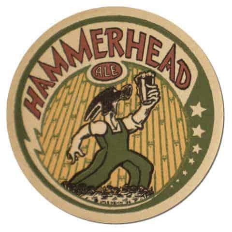 Hammerhead Ale Beer Mat
