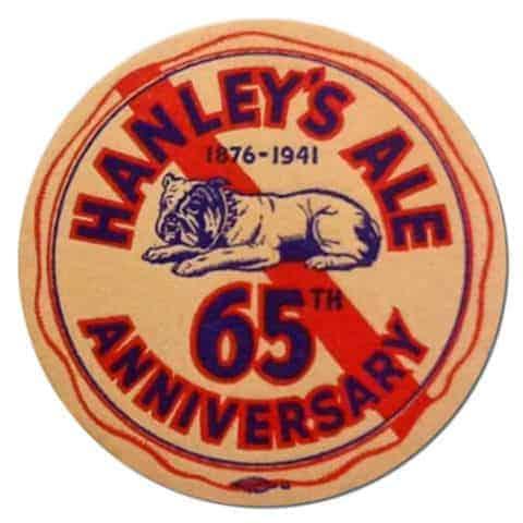 Hanleys Ale Beer Mat