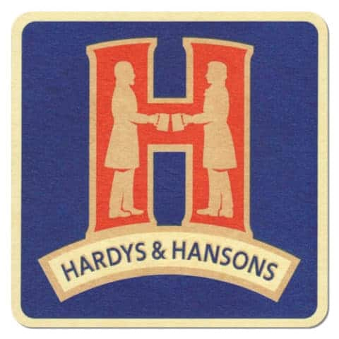Hardy's and Hansons Beer Mat