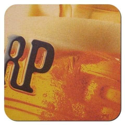 Harp Beer Mat Front