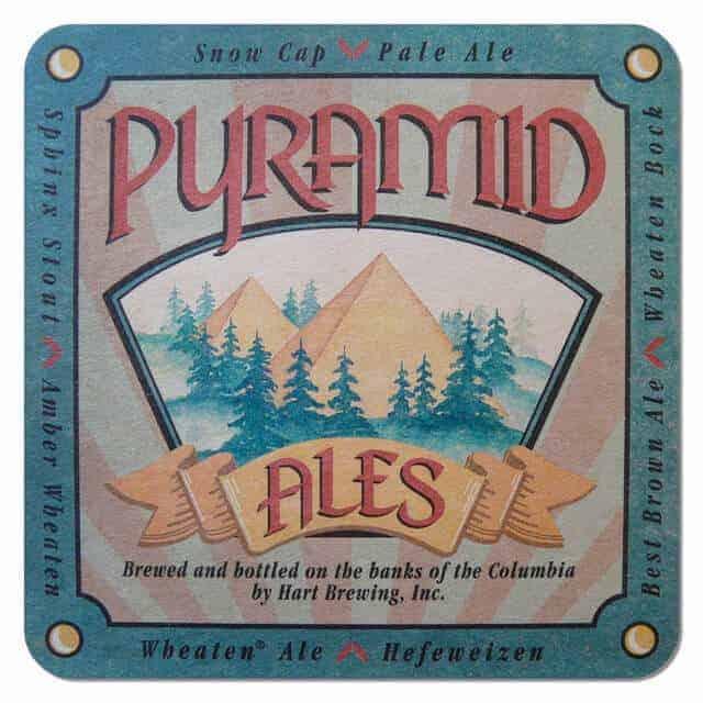 Hart Brewing - Pyramid Ales Coaster