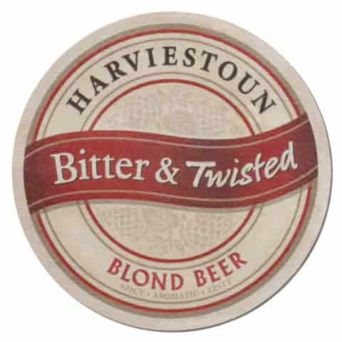 Harviestoun Blond Beer Mat