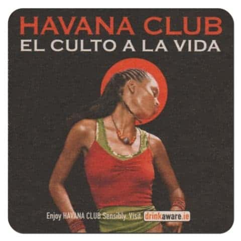 Havana Club Coaster Front
