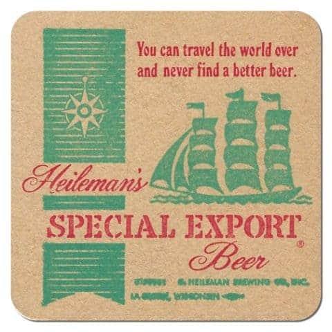 Heilmans Special Export Beer Mat