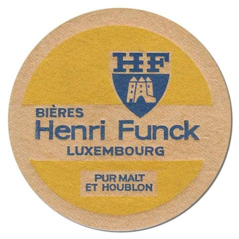 Henri Funck Beer Mat