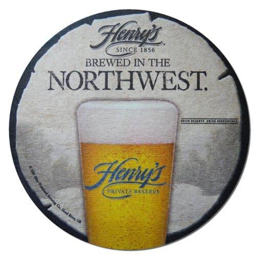 Henry's Beer Mat