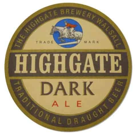 Highgate Dark Beer Mat