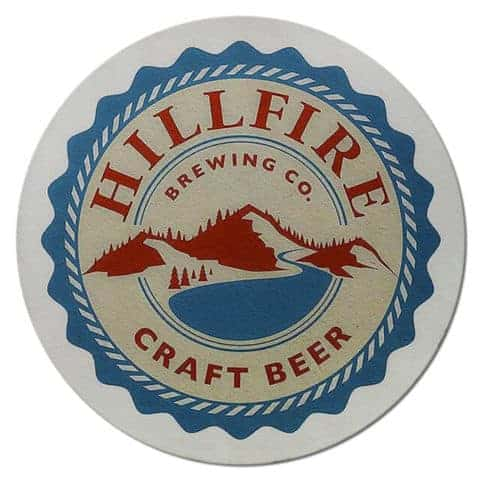 Hillfire Brewing Beer Mat