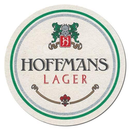 Hoffmans Lager Beer Mat