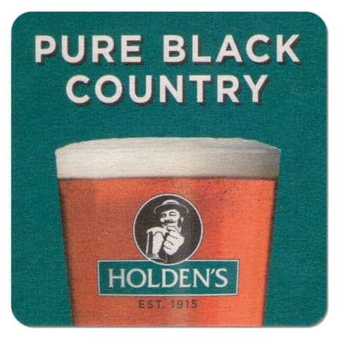 Holdens Brewery Beer Mat