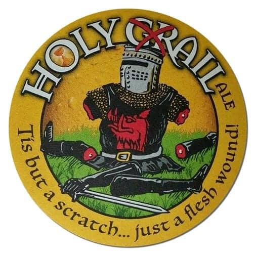 Holy Grail Ale Beer Mat
