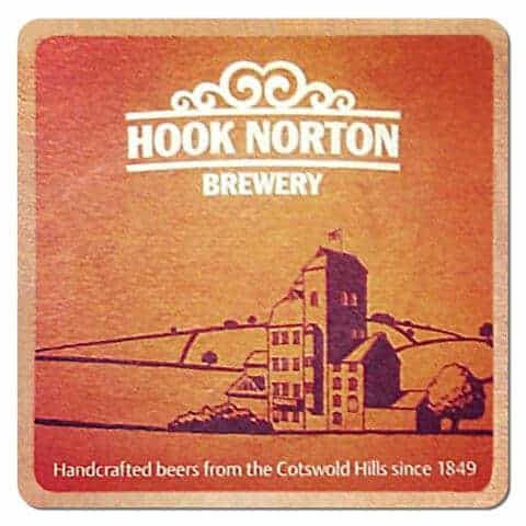 Hook Norton Brewery Beer Mat