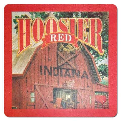 Hoosier Red Drip Mat