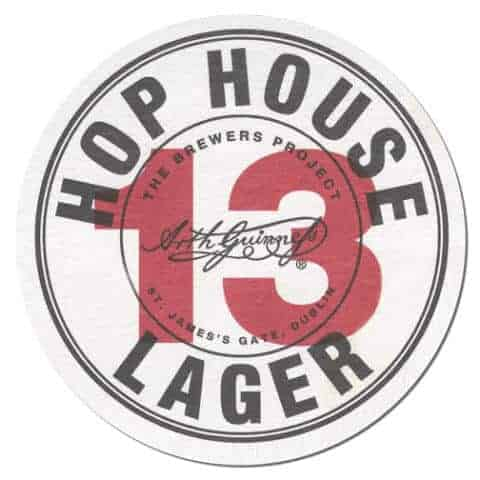 Hop House 13 Beer Mat Front