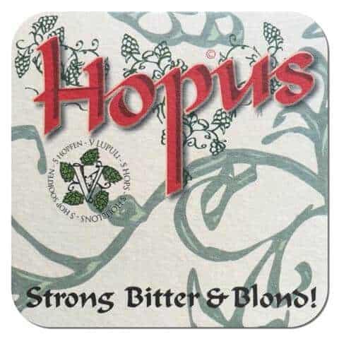 Hopus Beer Mat