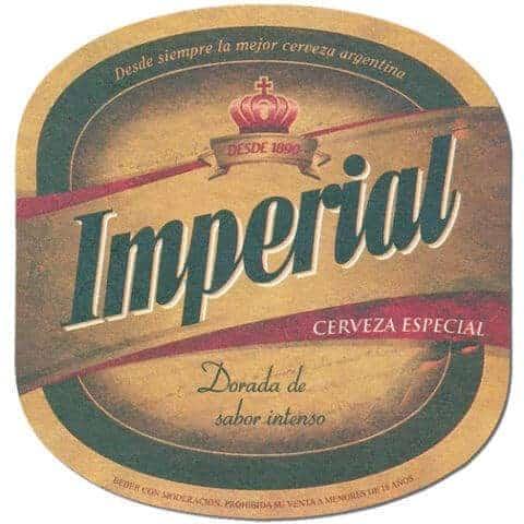 Imperial Cerveza Especial Beer Mat