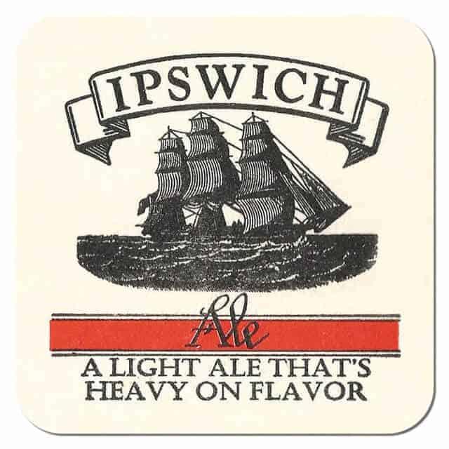 Ipswich Ale Beer Mat