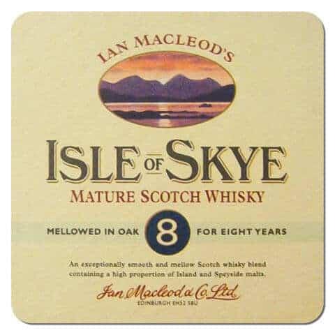 Isle of Skye Scotch Whisky Coaster