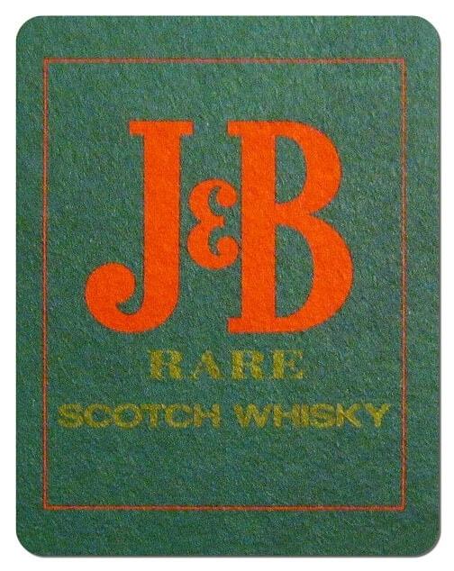 J&B Scotch Whiskey Coaster