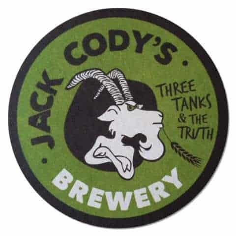 Jack Cody's Beer Mat