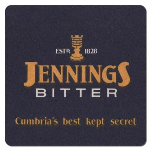 Jennings Bitter Beer Mat