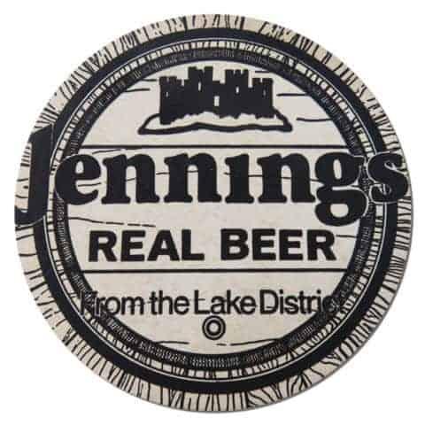 Jennings Brewery Coaster