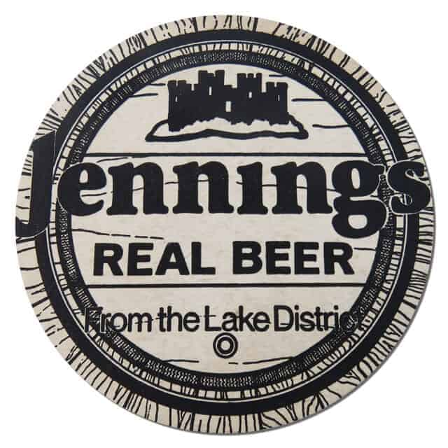 Jennings Brewery Coaster