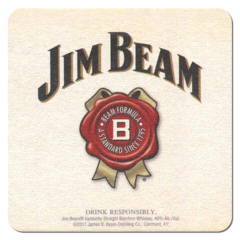 Jim Beam Bourbon Whiskey Coaster