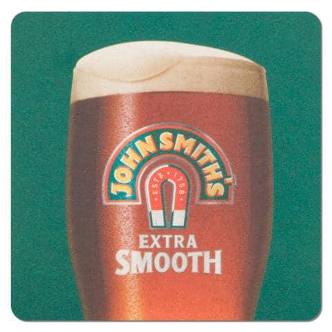 John Smiths Beer Mat