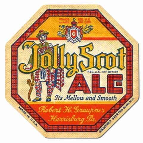 Jolly Scot Ale Coaster