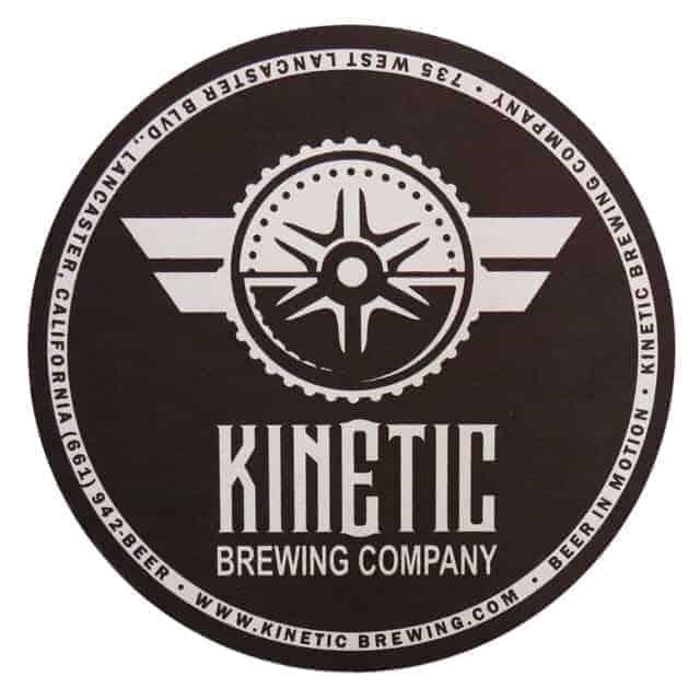 Kinetic Brewing Beer Mat