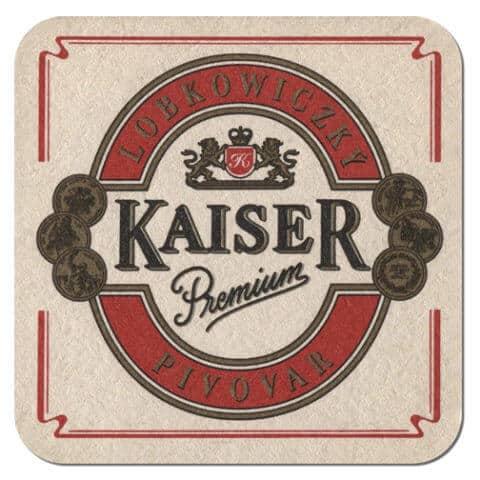 Kaiser Premium Beer Mat Front