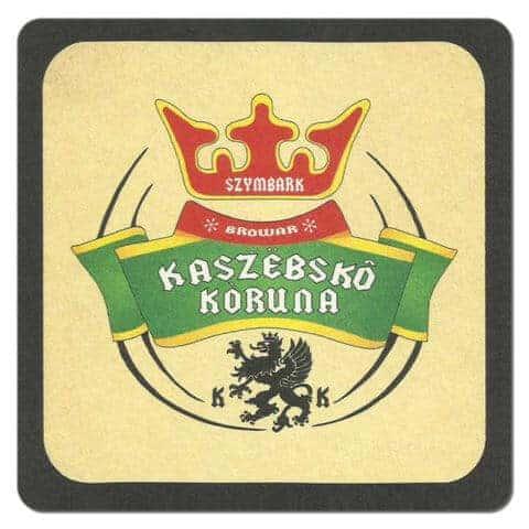 Kaszebsko Koruna Beer Mat