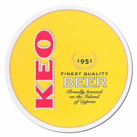 Keo Beer Mat