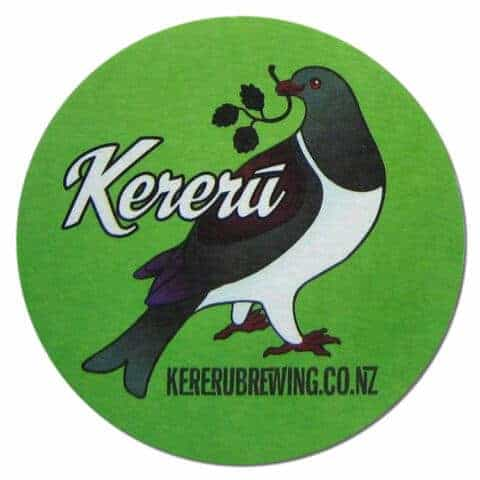 Kereru Beer Mat
