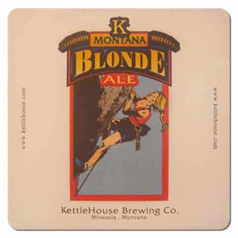 Kettle House Brewing - Montana Blonde Beer Mat
