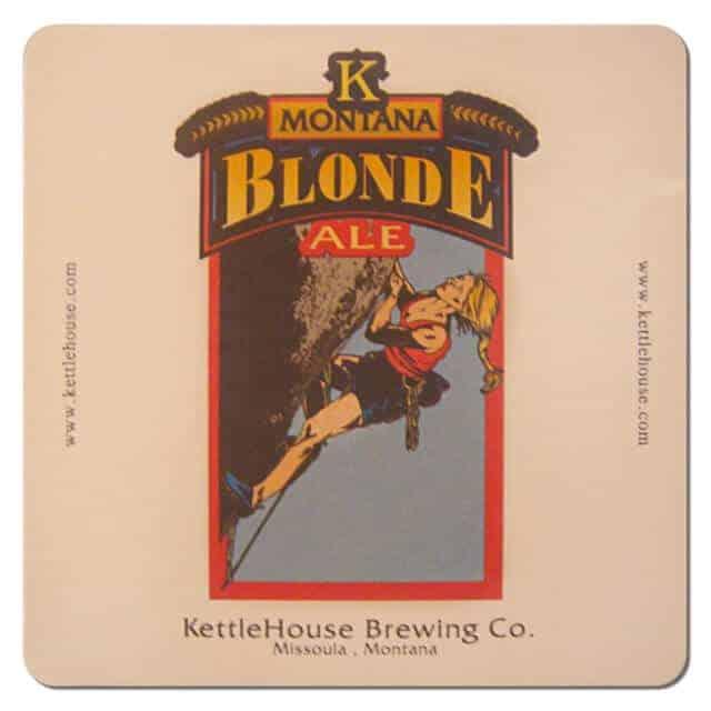 Kettle House Brewing - Montana Blonde Beer Mat