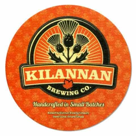 Kilannan Brewing Co Beer Mat