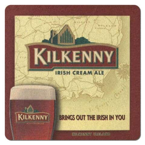 Kilkenny Irish Cream Ale Beer Mat