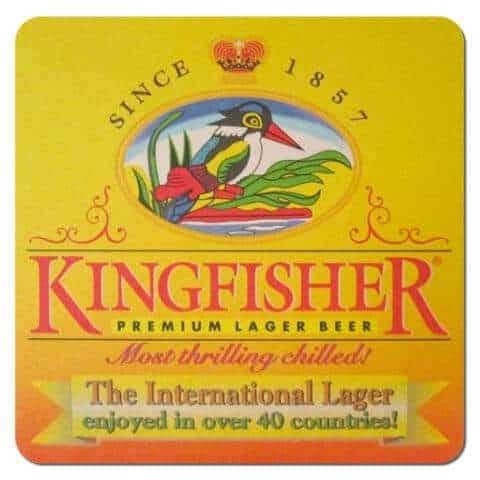 Kingfisher Beer Mat