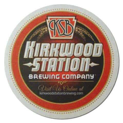 Kirkwood Station Brewing Beer Mat