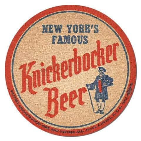 Knickerbocker Beer Drip Mat