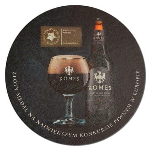 Komes - Fortuna Browar Beer Mat